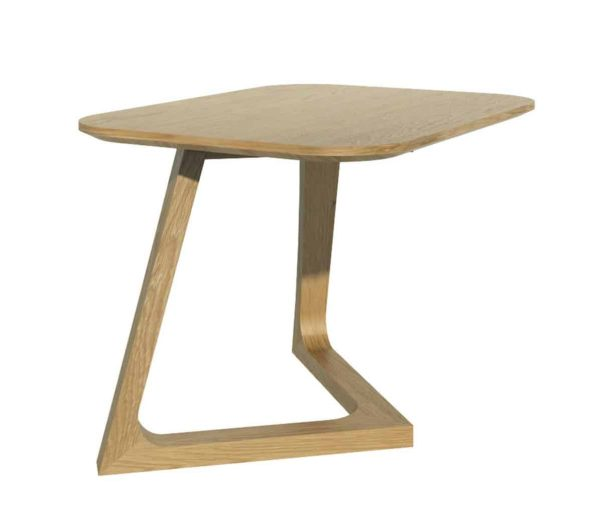 Homestyle Scandic Oak Small Lamp Table
