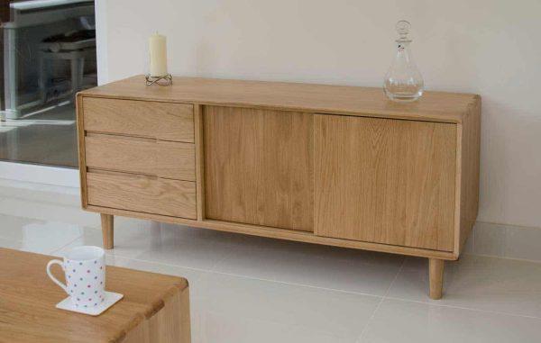 Homestyle Scandic Oak Wide Unit