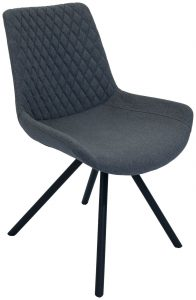Sigma Dining Chair-Shadow Grey (Pair)