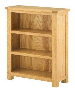 Classic Portland Oak Small Bookcase