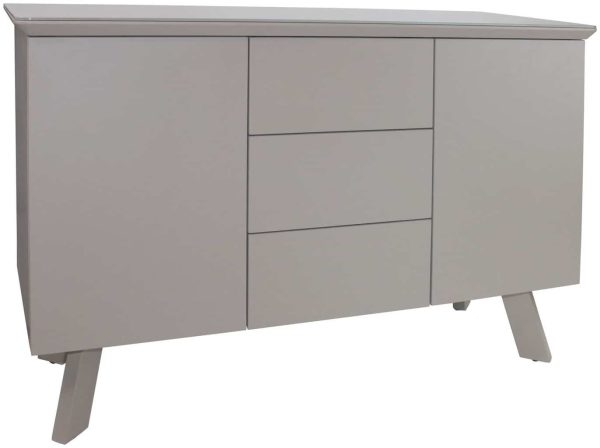 Contemporary Small Sideboard – cappuccino