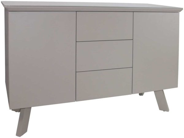 Contemporary Large Sideboard – cappuccino