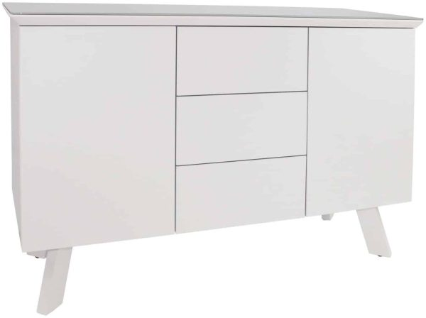 Contemporary Large Sideboard – white