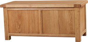 Suffolk Oak Large Blanket Box