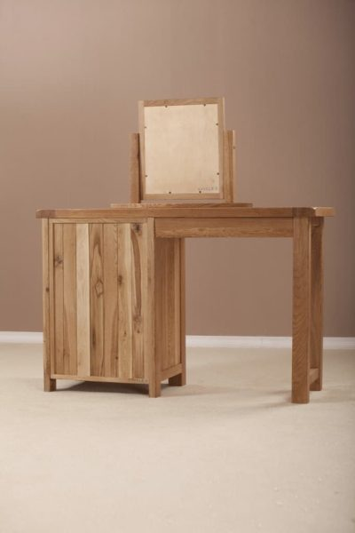 Suffolk Solid Oak Single Dressing Table (only)
