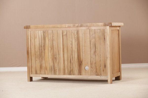 Suffolk Solid Oak Standard TV Cabinet   Fully Assembled
