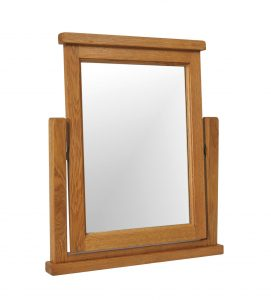 Somerset Waxed Oak Dressing Table Mirror