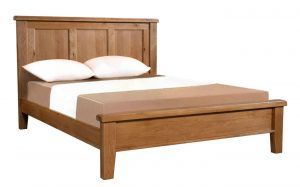 Somerset Waxed Oak 5′ King Size Bed