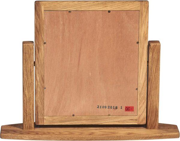 Suffolk Solid Oak Single Dressing Table Mirror