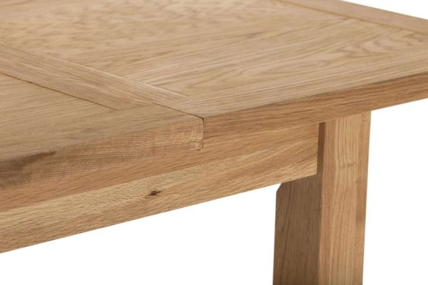 Besp-Oak Vancouver Compact Extension Dining table 1.2M – 1.6M