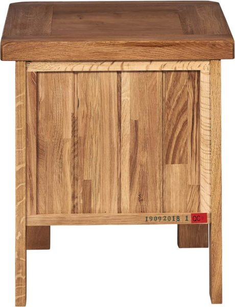 Suffolk Solid Oak 1 Drawer Lamp Table | Fully Assembled