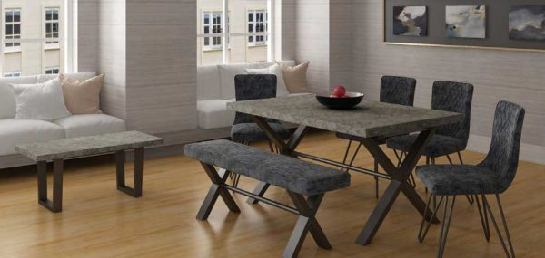 Classic Fusion Stone Small 1.5m Dining Table
