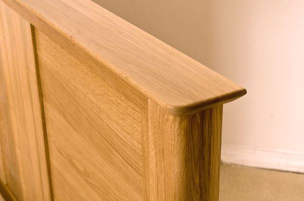 Cambridge Solid Oak 6′ High Foot End Super King Size Bed