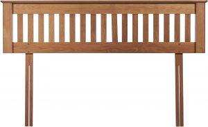 Cambridge Solid Oak 4'6″ Double Headboard