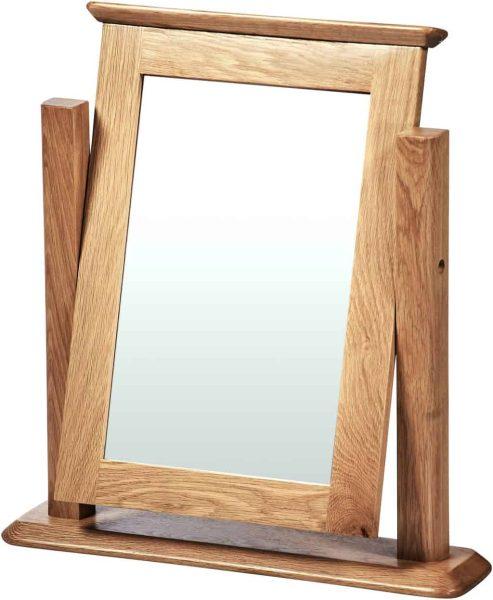 Cambridge Solid Oak Dressing Table Mirror