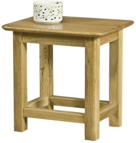 Cambridge Solid Side Table | Fully Assembled