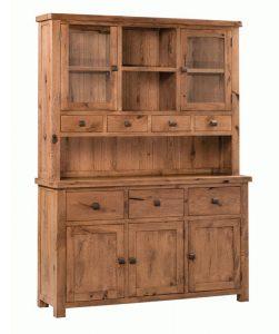 Homestyle Aztec Oak Dresser (Complete Unit)