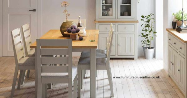 Bretagne Painted Flip Top Dining Table