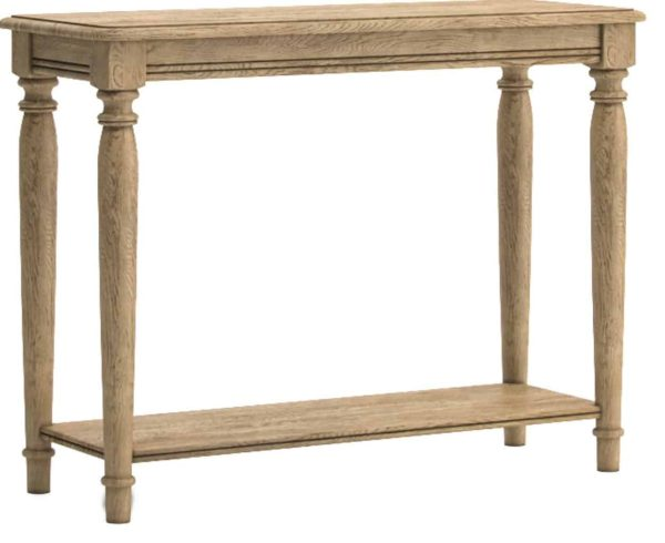 Versailles French Oak Console Hall Table