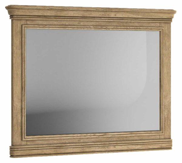 Versailles French Oak Wall Mirror – horizontal | Fully Assembled