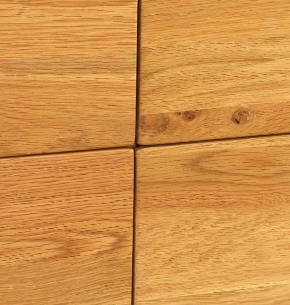 Besp-Oak Vancouver Oak 7 Drawer Dresser Chest | Fully Assembled