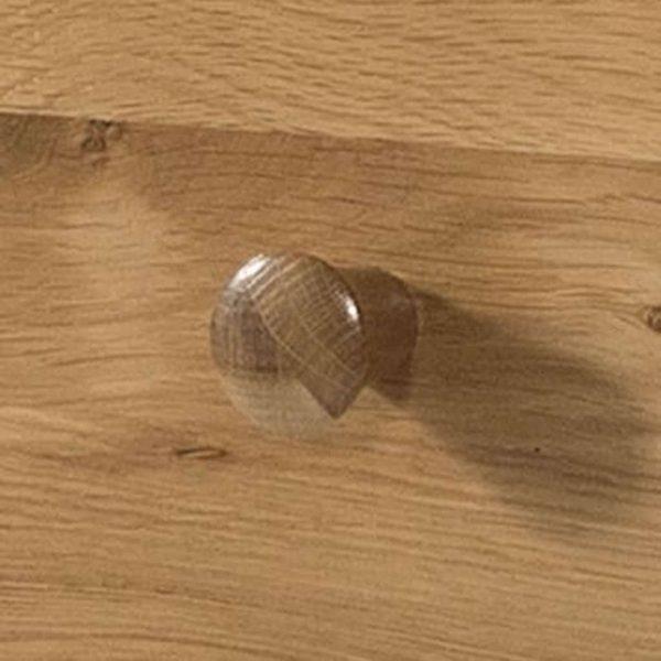 Devonshire Burford Oak Double Wardrobe with 1 Drawer