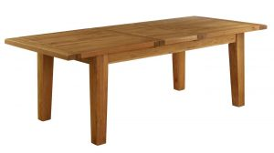 Besp-Oak Vancouver Oak VSP Large Extending Dining Table 1.8M – 2.3M