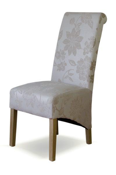 Richmond Cream Floral Dining Chair (Pair)