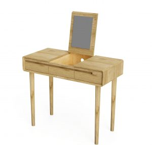 Homestyle Scandic Oak Dressing Table with Mirror