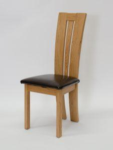 Venezia Oak Dining Chair (Pair)