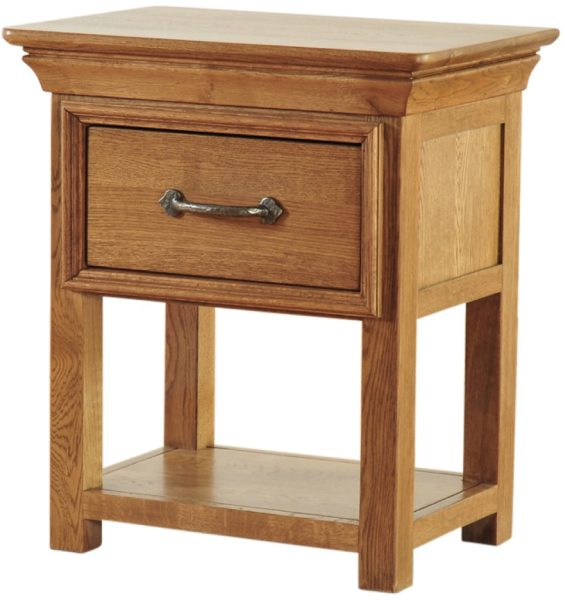Normandy French Solid Oak Night Stand