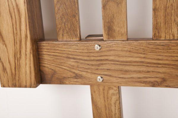 Country Rustic Oak 3′ Headboard