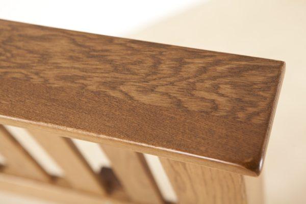 Country Rustic Oak 4'6″ Headboard