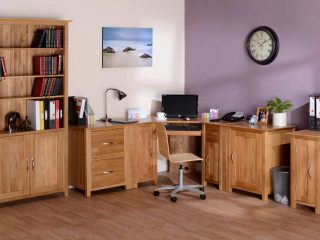 New Oak Office Furniture
